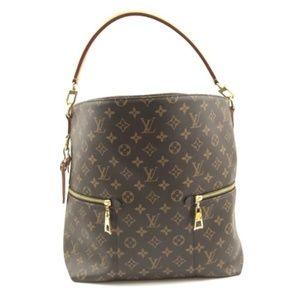 1393e374d61c Louis Vuitton. Bucket Melie with Strap Hobo Canvas Shoulder Bag
